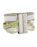 Armband Limon aus Messing & Stoff HIPANEMA 3700839112796