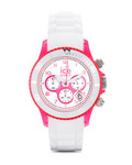 Chronograph Chrono Party CHWPKUS13 Ice Watch pink,weiß 4895164005345