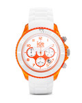 Chronograph Chrono Party CHWOEBBS13 Ice Watch orange,weiß 4895164005307