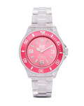 Quarzuhr Ice-Pure Small PUPKSP12 Ice Watch klar,pink 4895164002832