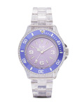 Quarzuhr Ice-Pure Small PUPESP12 Ice Watch klar,violett 4895164002849