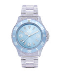 Quarzuhr Ice-Pure Unisex PUBEUP12 Ice Watch blau,klar 4895164002870