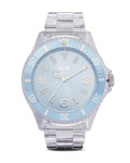 Quarzuhr Ice-Pure Big PUBEBP12 Ice Watch blau,klar 4895164002955