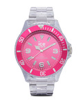 Quarzuhr Ice-Pure Big PUPKBP12 Ice Watch klar,pink 4895164002993