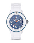 Ice Watch Quarzuhr Ice White Jeans SIWJUS11