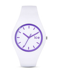 Quarzuhr Crazy Purple ICECYPEUS13 Ice Watch violett,weiß 4895164006755