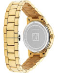 Quarzuhr mit Zirkonia 86644452 JETTE Time Gold 4040615062013