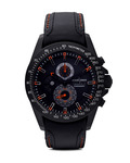 Chronograph Liverpool GMT 1-1635D JACQUES LEMANS schwarz 4040662104834