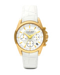 Chronograph Liverpool 1-1752D JACQUES LEMANS gold,weiß 4040662112945