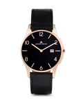 Quarzuhr London 1-1777O JACQUES LEMANS roségold,schwarz 4040662115984