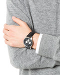 Chronograph London 1-1654A JACQUES LEMANS Herren Leder 4040662116462