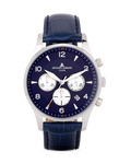 Chronograph London 1-1654C dunkelblau JACQUES LEMANS blau 4040662116486