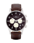 Chronograph London 1-1654D JACQUES LEMANS braun 4040662116493