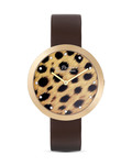 Quarzuhr LP-113I JACQUES LEMANS braun,gold 4040662125594