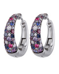 Creolen Extreme Pavée Colored 925 Sterling Silber JOOP! 4891945877903