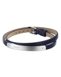 Armband Steel Color Wrap Dark Blue Edelstahl JOOP! 4891945914448