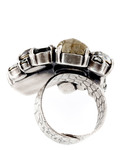 Ring To Katharine With Love Messing KONPLOTT grau Swarovski-Stein 5450543148908