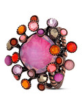 Ring Alien Caviar pink-orange KONPLOTT 5450543212197