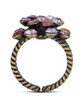 Ring Magic Fireball lila KONPLOTT violett Glas 5450543218397