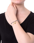 Armband Edelstahl Lotus Style gold,silber  8430622597824