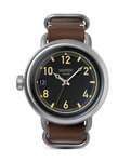 Quarzuhr October Leather A279 019-00 Black / Brown NIXON braun,schwarz,silber 3608700083711