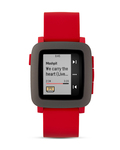 Smartwatch 501-00022 pebble grau,rot 855906004351