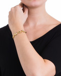 Armband Clarity Messing Pilgrim gold Kristall 5707050055923