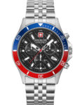 Swiss Military Hanowa Herren-Uhren Analog Quarz Swiss Military Hanowa silber 7620958001169