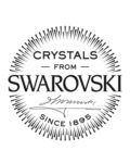 Ohrhänger Swarovski Elements blau-weiß s.Oliver Junior 4020689058730