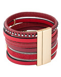 Armband Genia Metall Sweet Deluxe gold,rot  4052478045034