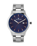 Quarzuhr 5414106 TOM TAILOR blau,silber 3660895847936