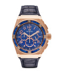 Chronograph CEO Tech Kelly Rowland Special Edition TWCE4007 TW Steel blau,roségold 4046261702891