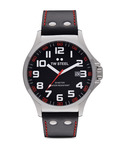Quarzuhr Pilot Collection TW-411 TW Steel schwarz,silber 4046261703133