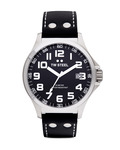 Quarzuhr Pilot Collection TW-408 TW Steel schwarz,silber 4046261703102