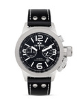 Chronograph Canteen Style Strap CS4 TW Steel schwarz,silber 8718836361746