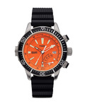 Quarzuhr Depth Gauge T2N812 TIMEX orange,schwarz 753048401710