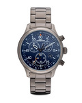 Chronograph Expedition Field Chrono T49939 TIMEX blau,grau 753048446858