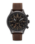 Chronograph Expedition Field Chrono T49905 TIMEX braun,schwarz 753048414284
