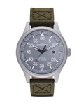 Quarzuhr Expedition Military Field T49875 TIMEX grau,grün,silber 753048403813