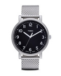 Quarzuhr Originals Easy Reader T2N602 TIMEX schwarz,silber 753048382088