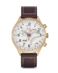 Chronograph Fly Back Gold T2P510 TIMEX beige,braun,gold 753048525157