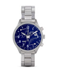 Chronograph Intelligent Quartz™ Fly-Back TW2P60600 TIMEX blau,silber 753048560905