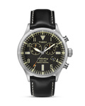 Chronograph The Waterbury TW2P64900 TIMEX schwarz,silber 753048563029
