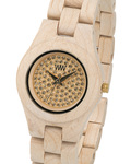 Quarzuhr Moon Crystal Beige WW19001 WEWOOD Damen Holz 610373987817