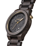 Quarzuhr Alpha Black/Gold WW08005 WEWOOD Herren Holz 610373989088