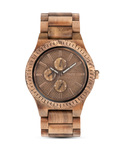 WEWOOD Quarzuhr Kos Nut WW30002