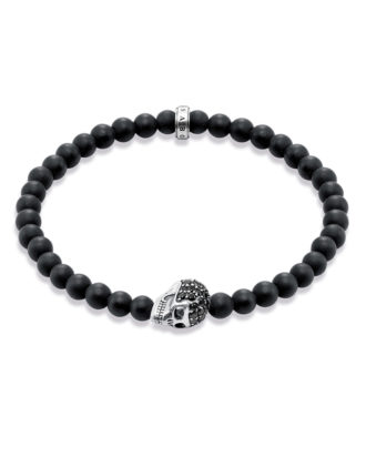 Armband Rebel at Heart aus Obsidian & 925 Sterling Silber