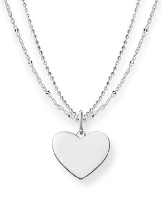 Halskette Love Bridge aus 925 Sterling Silber