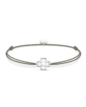 Armband Little Secrets aus 925 Sterling Silber & Nylon
