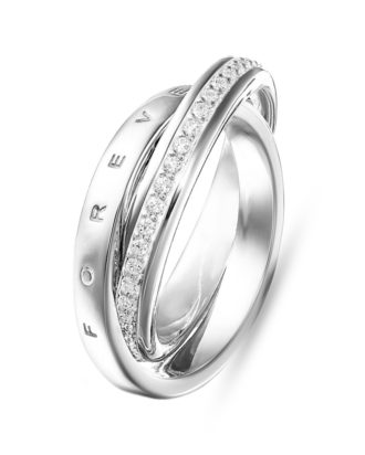 Ring Glam & Soul aus 925 Sterling Silber mit Zirkonia